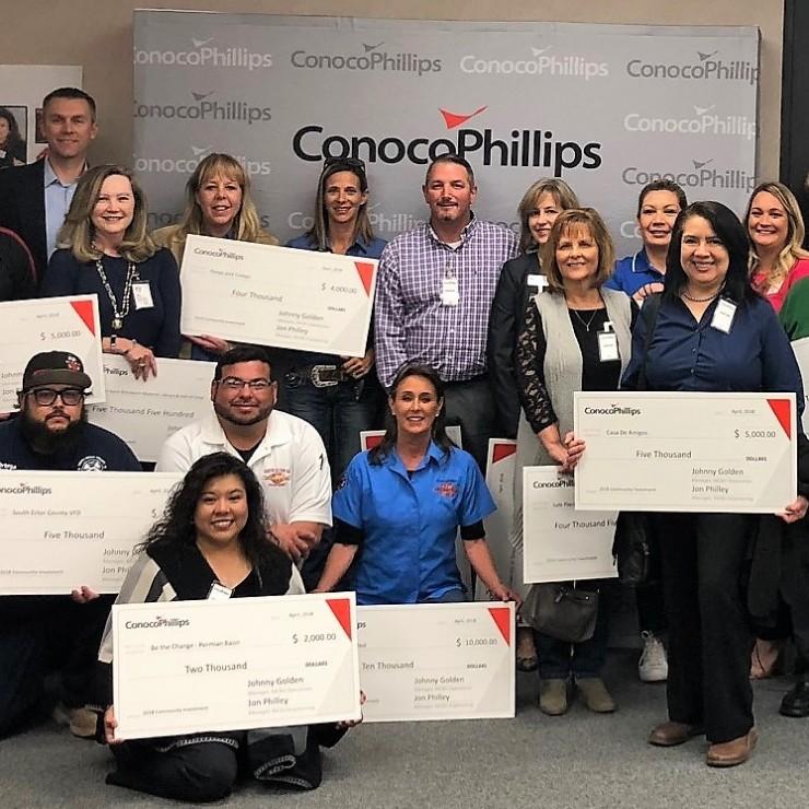 ConocoPhillips Awards $200,000 in Grants to Permian Basin