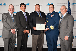 November 2016 Ship Safety Achievement Awards
