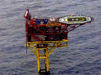Viscount Platform – Southern North Sea