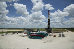 Eagle Ford Shale Drilling Rig, Texas