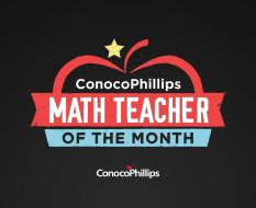 Math Teacher of the Month