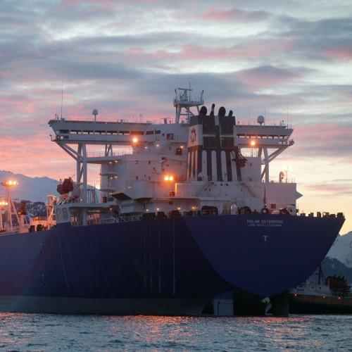 Polar Enterprise Tanker Alaska