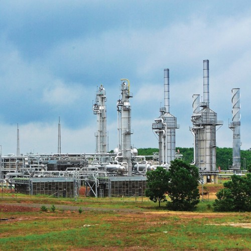 Suban Gas Plant Indonesia