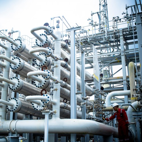 Grissik Gas Plant Indonesia
