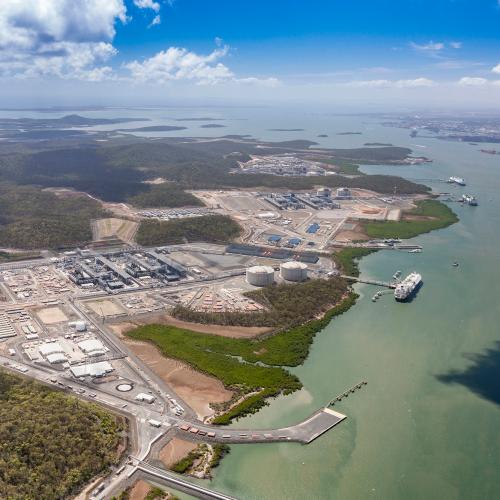 APLNG Curtis Island, Australia