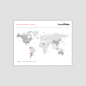Map 77079.Global Maps Conocophillips