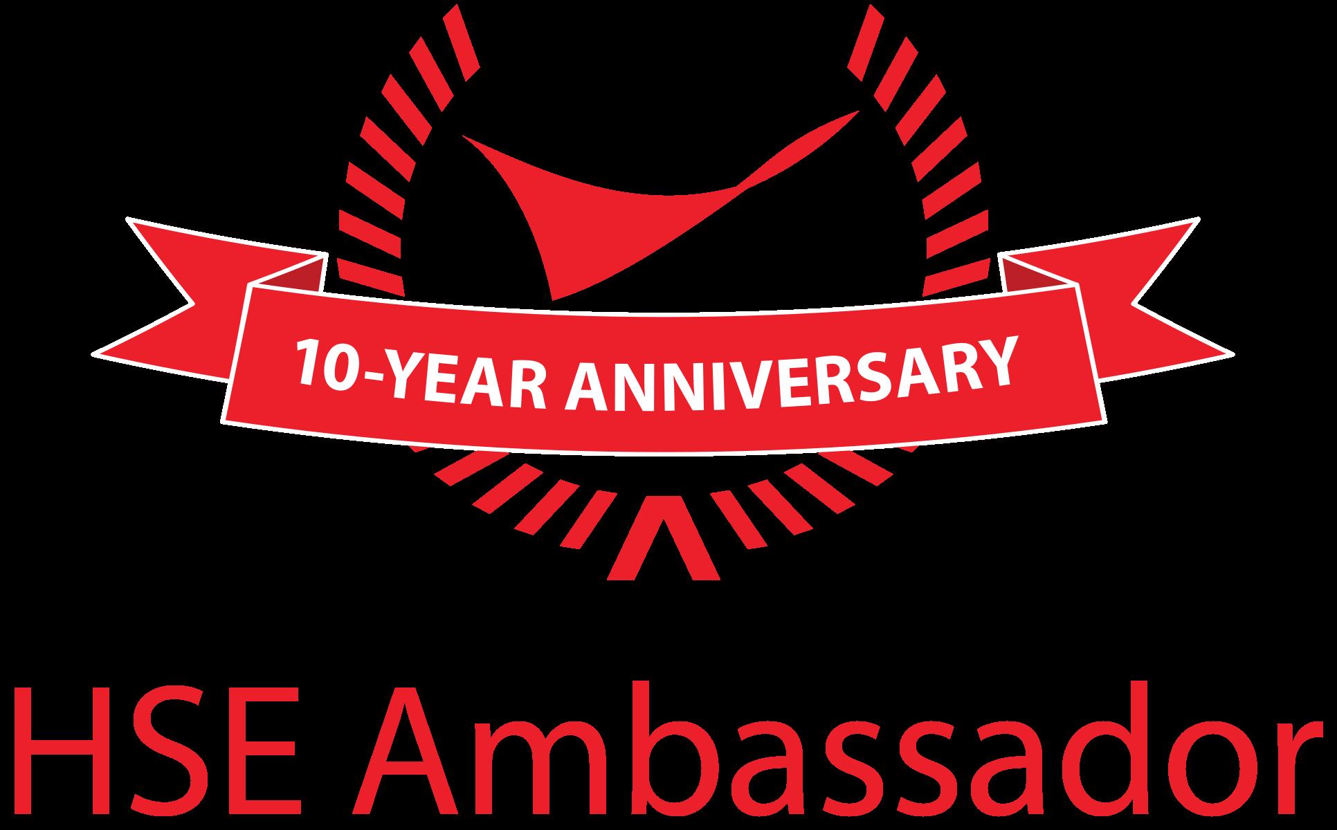 HSE Ambassador graphic