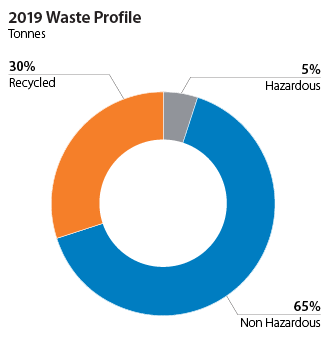 2019 Waste Profile
