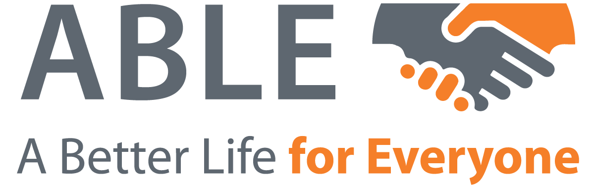 Logo: ABLE, A Better Life for Everyone