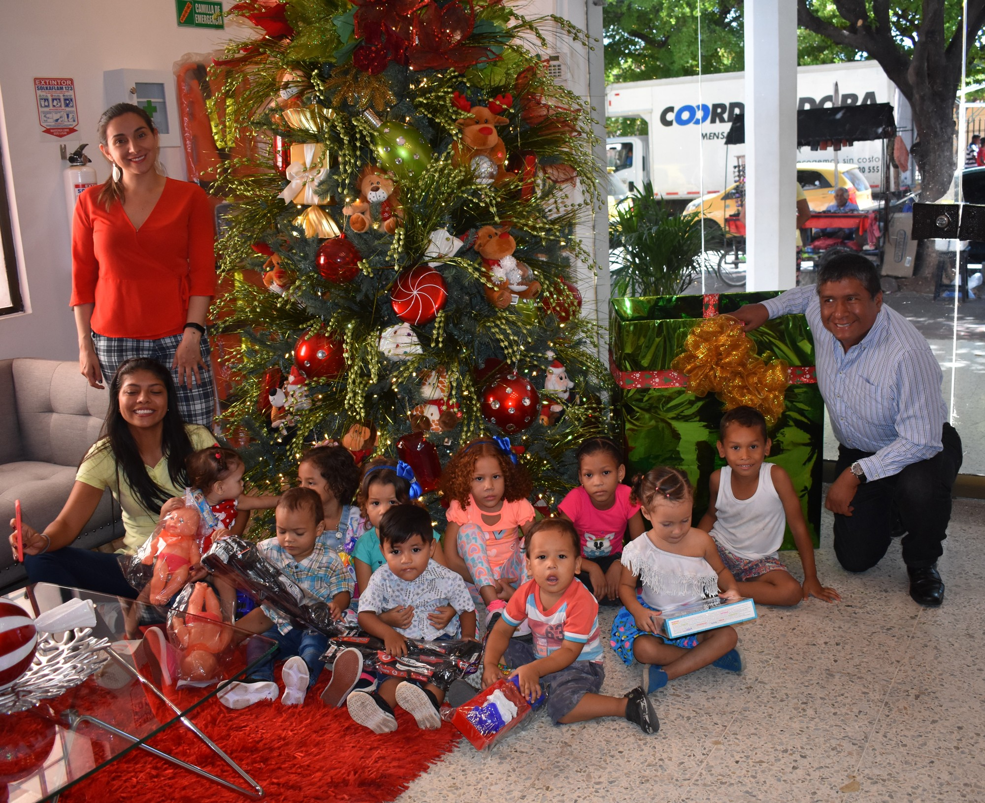 Donation program, Giving Smiles - Magazine La Calle, Valledupar.