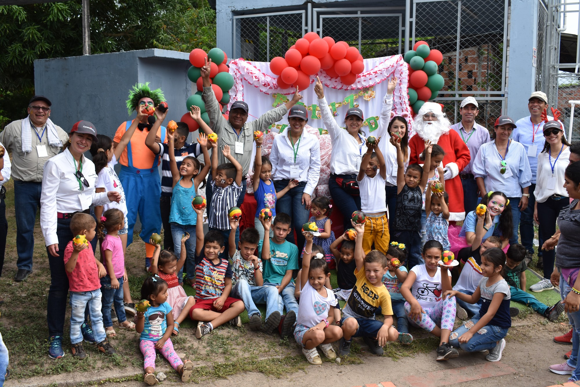 Christmas Activities Celebration in the communities from Cesar Department.