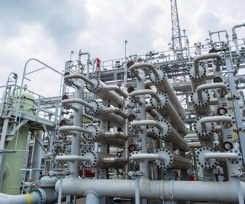 Grissik Gas Plant, South Sumatra