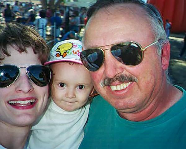 Jennifer, Katie and Joe Ellis.