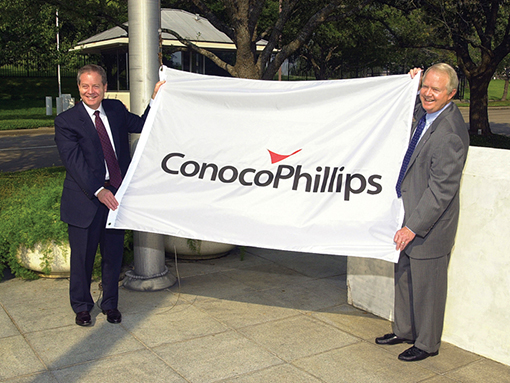ConocoPhillips is formed