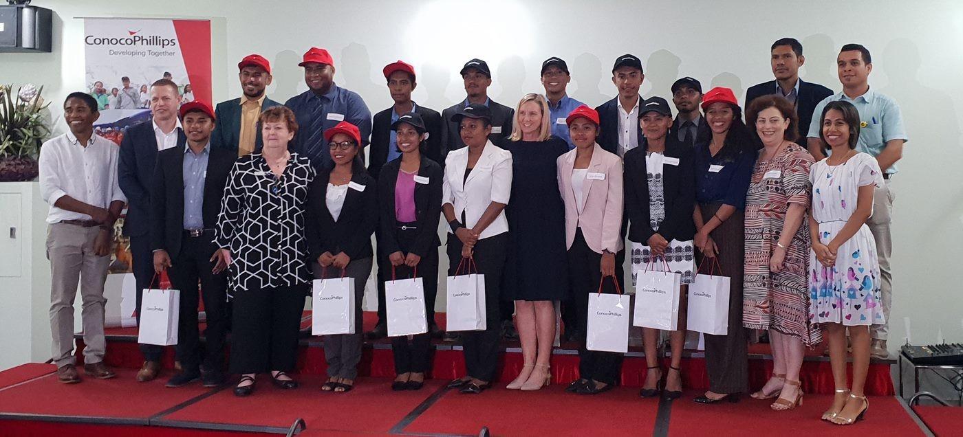 Timor Leste GIP Ceremony