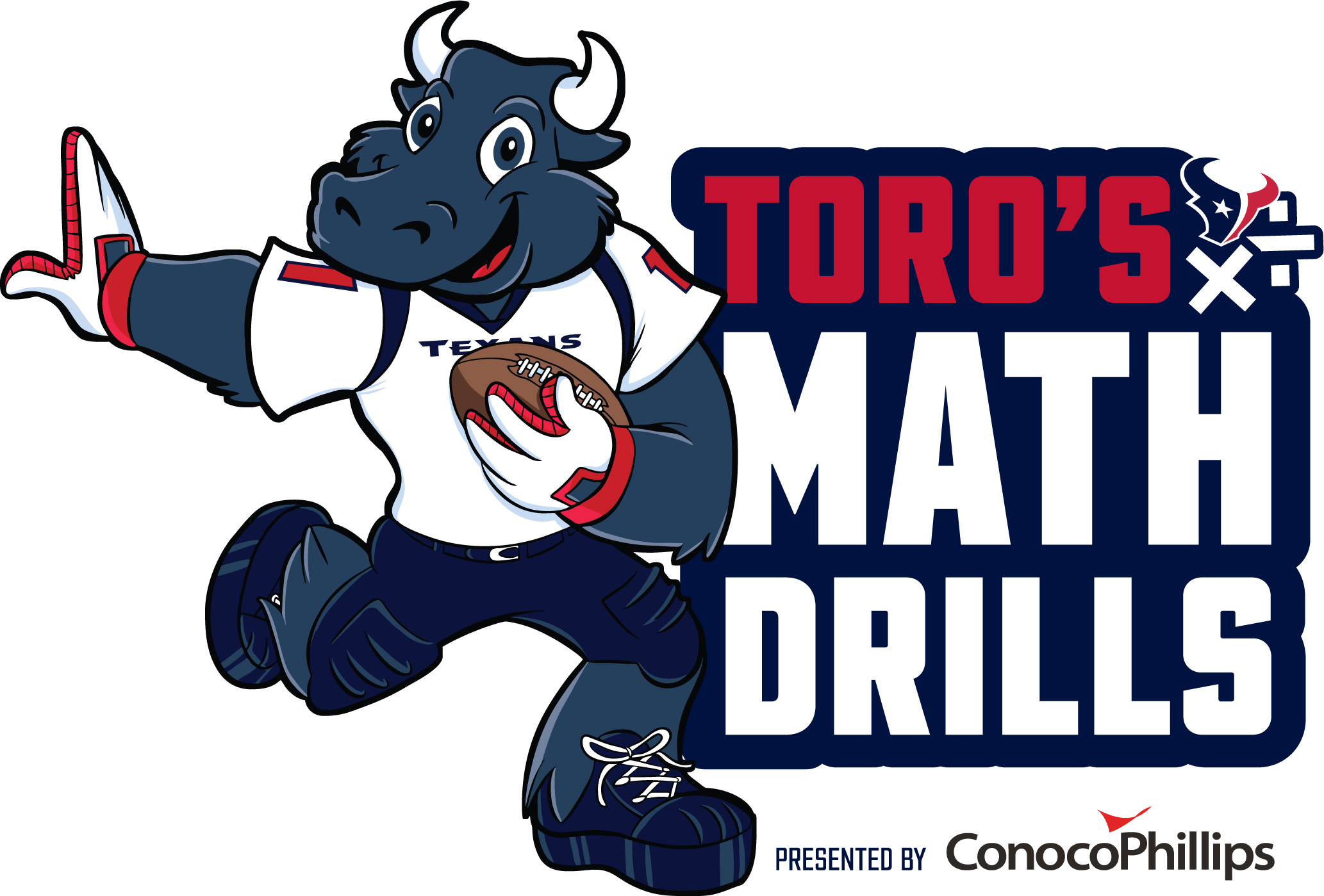 TORO's Math Drills Logo