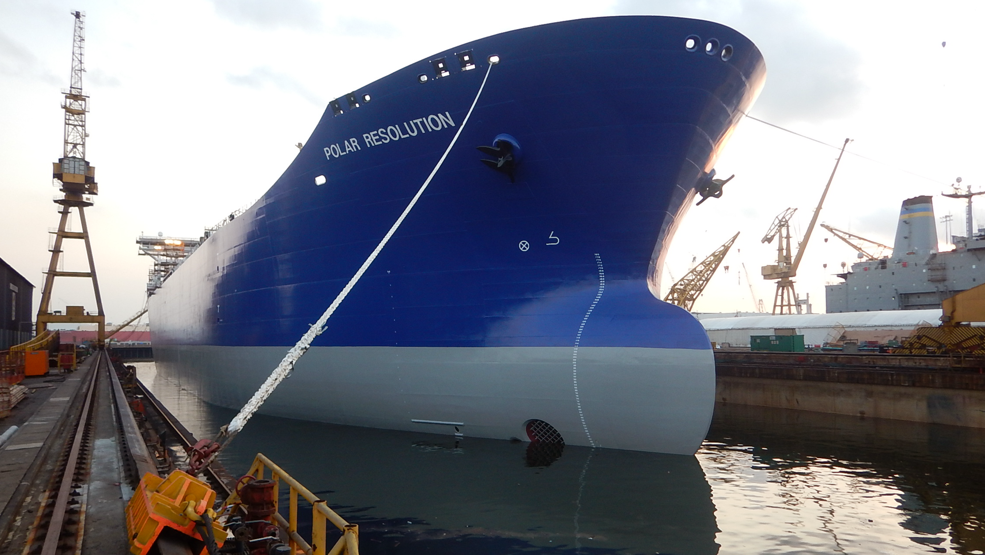 Polar Tankers: Drone inspections reduce risk, save time and